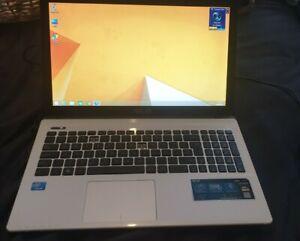 ASUS K55A laptop and charger - read description