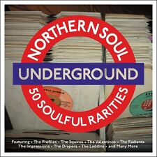 Northern Soul Underground - 50 Soulful Rarities (2CD 2016) NEW/SEALED