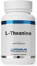 Douglas Labs L-Theanine (Suntheanine) Amino Acid, Ease Anxiety (100mg, 60 VCaps)