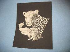 * Tri Chem 8665 B Leopard Children Of The Wild Liquid Embroidery Picture