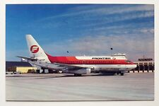 Frontier Airlines Boeing 737 Postcard