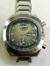 CITIZEN CHRONOGRAPH 8110. AUTOMATIC. STEINLESS STELL. WORKS. JAPAN. 70s