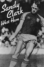 Football Photo>SANDY CLARK West Ham United 1982-83