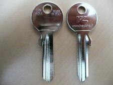 50 x Schlüssel Rohlinge Rohling TK10S 576,5KN TK5S WIN-5 TO30R WINKHAUS