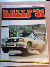 Rally 1981 Jean Lauwerens -  Christian Leonard
