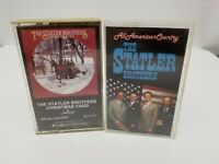 Statler Brothers Cassette Tapes Set of 2 Christmas Card & All American Country