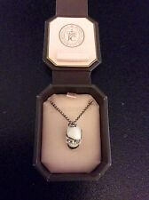 juicy Couture SKULL PIRATE teschio COLLANA Necklace LIMITED edition