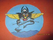 WWII USN   USS HORNET VF-8 FIGHTING EIGHT JACKET  PATCH