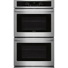 """Frigidaire Stainless 30"""" Electric Double Wall Oven Self Clean FFET3026TS"""