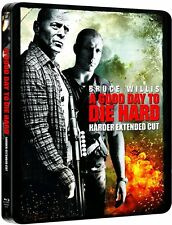 A Good Day To Die Hard (harder extended cut) Limited Edition Blu-Ray Steelbook -