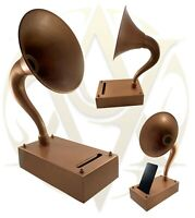 New Antique Gramophones For Smartphones Amplifier Speaker Table/Desk Decor Gift