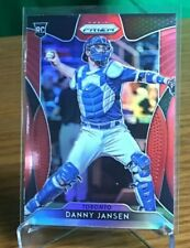 2019 Panini Prizm Red Parallel Rookie Danny Jansen Toronto Blue Jays Catcher