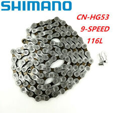 Shimano CN-HG53 9 Speed MTB Road Bike Chain Deore Tiagra Sora 114 Links
