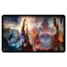 MTG Custom Playmat Lands Battle Card Games Magic YGO Playmat with Free Gift Bag