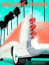 Rolling Stones # 13 - 8 x 10 Tee Shirt Iron On Transfer Cuba concert poster