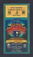 1986 MLB BASEBALL ALL-STAR GAME TICKET STUB at ASTRODOME - ROGER CLEMENS MVP