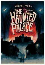 16mm THE HAUNTED PALACE (1963).  Beautiful LPP color horror feature film rarity!