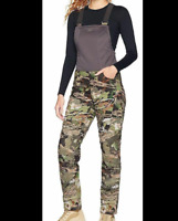 UNDER ARMOUR Stealth Hunting Bib Pants Realtree Edge Inseam Women's LARGE NWT