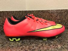 Nike Mercurial Veloce Ii Fg Soccer Cleats Hyper Punch 651618-690 Men Sz 9.5-12