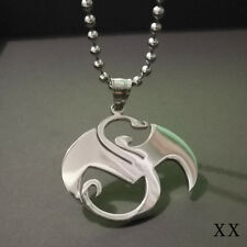 STRANGE MUSIC CHARM PENDANT Tech N9ne Stainless Steel Jewellery Juggalo 1 2/8IN