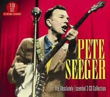 Pete Seeger ABSOLUTELY ESSENTIAL COLLECTION Best Of 60 Songs NEW SEALED 3 CD
