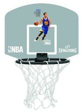 SPALDING NBA PLAYERS WITH STICKERS Mini Basketball Backboard hoop with ball