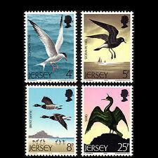 Jersey 1975 - Seabirds Bids Fauna Animals - Sc 129/32 MNH