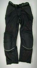 Joe Rocket Women's Riding Motorcycle Pants with Pads - Size 8