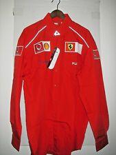 Ferrari Dress Shirt FILA XXL ENZO FERRARI Signed (Embroidered)