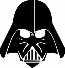 Grand Dark Vador Star Wars Vinyle Autocollant Mural Garçons Chambre