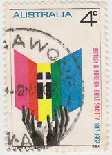 (DA416) 1967 AU 4c 150th anniversary bible society (D)