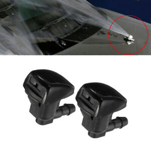 2Pcs/set Car Front Windshield Water Spray Wiper Nozzle Accessories For Toyota