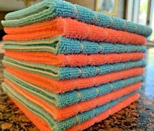12 Woven Kitchen Cleaning Cloth Oil Removal Microfiber Towel Dish Cloth
