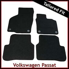Volkswagen VW Passat CC 2008-2017 Tailored Carpet Car Floor Mats BLACK