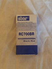 Star Ink Ribbon Black/Red Thermal Transfer 1.5M / .075M for SP700 30980721 NEW