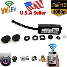 Wireless WiFi Hidden SPY Button Camera DIY Module Video DVR For Android iphone