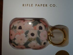 Rifle Paper Co Company Clip On Case for AirPods Pro NIP Pink fLORAL