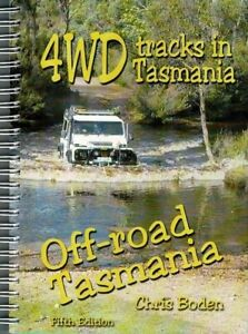 4WD Tracks in Tasmania Off-road Tasmania by Chris Boden FREE SHIPPING