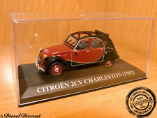 CITROEN 2CV 2 CV CHARLESTON BLACK/DARK BROWN 1982 1:43