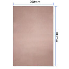 PCB Circuit Board Single Sided Copper Clad Plate Laminate 20x30cm For DIY New