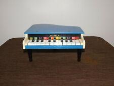 "VINTAGE MUSIC 12"" X 11 1/2"" 6"" HIGH..JAYMAR USA CHILD TOY PIANO"