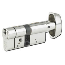 Yale Style 5 Pin Euro Cylinder Polished Brass 90mm 35//55 Lock UPVC Door Asec