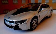 BMW i8 ANY NAME PERSONALISED PLATES Toy Car model boy girl dad birthday present!