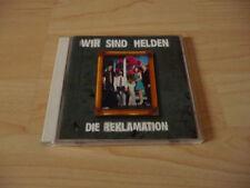 CD Wir sind Helden - Die Reklamation - 2003 incl. Denkmal