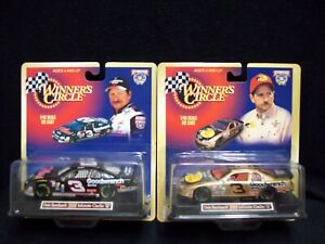 Winner Circle Dale Earnhardt 2 Car 1:43 scale set Nascar.