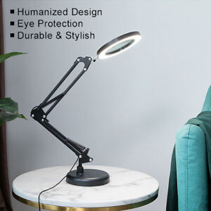 Adjustable Dimmable USB LED Clip-On Desk Lamp Bed Reading Table Study Light