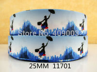 """Mary Poppins Ribbon 1"""" Wide NEW UK SELLER FREE P&P"""