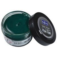 Shoestring Green Carribean Shoe and Leather Cream Polish 50ml - Pine / Carribean