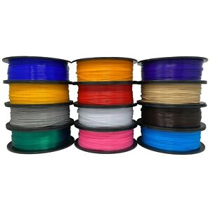 PETG Filament - 25 Colors Available - 1.75mm - 1kg/2.2lb - For 3D Printing