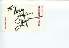 Gary Morris Counry Music The Wind Beneath My Wings Singer Signed Autograph
